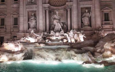 Fontana di Trevi- Rim