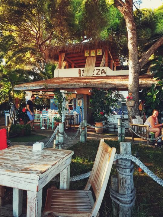 "Terasa restorana ""Ibiza"", Magaluf"
