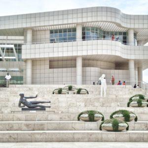 Arhitektura muzeja Getty - izgled i materijali