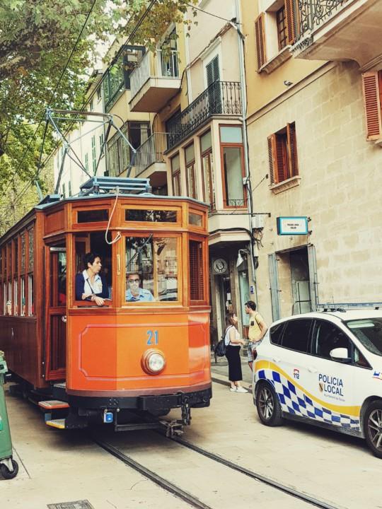 Stari tramvaj na relaciji Soller - Port de Soller