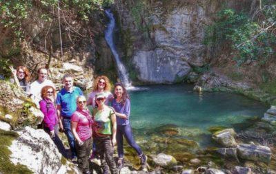 Vodopad u selu Turčini - ekipa